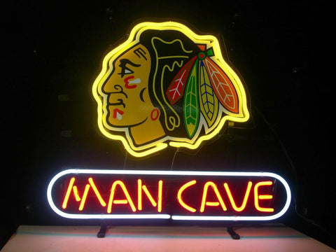 Nhl Chicago Blackhawks Hockey Man Cave