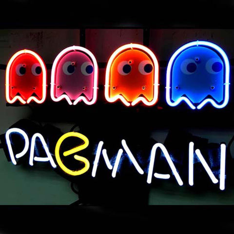Professional  Pacman Game Beer Bar Neon Sign
