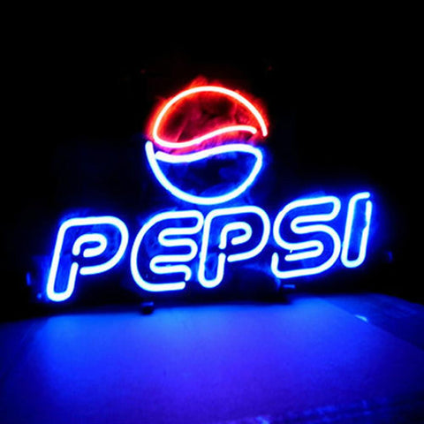 Professional  Pepsi Soda Beer Bar Open Neon Signs