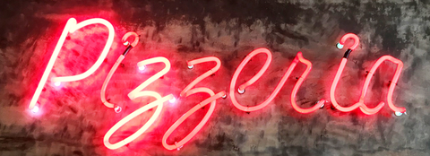 Pizzeria  Handmade Art Neon Signs