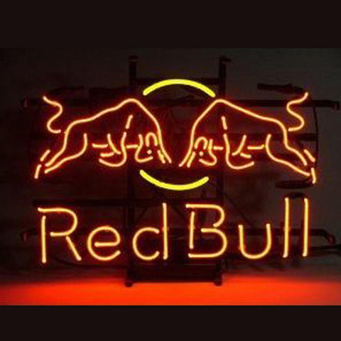Professional  Red Bull Redbull Energy Soda Drink Beer Bar Real Neon Sign