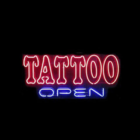 Professional  Tattoo Open Neon Sings