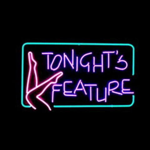 Professional  Tonights Feature Shop Open Neon Sign