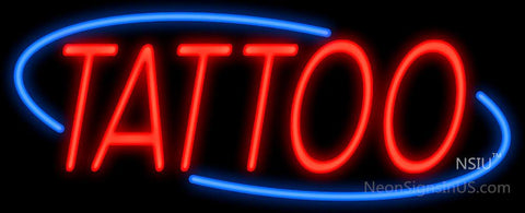 Tattoo Deco Style Real Neon Glass Tube Neon Signs