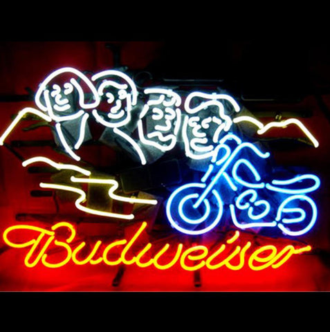 Wiki Neon Sign Blog Budweiser Sturgis Bikers Neon Light Sign