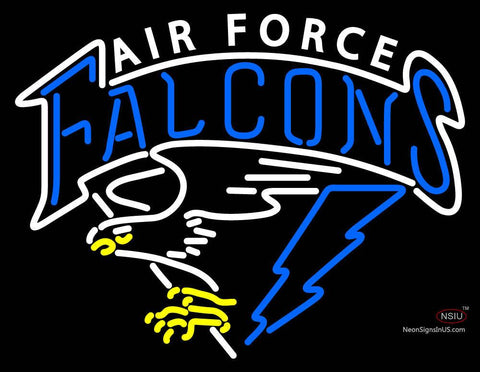 Air Force Falcons Primary   Logo NCAA Neon Sign
