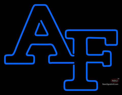 Air Force Falcons Primary  Pres Logo NCAA Neon Sign