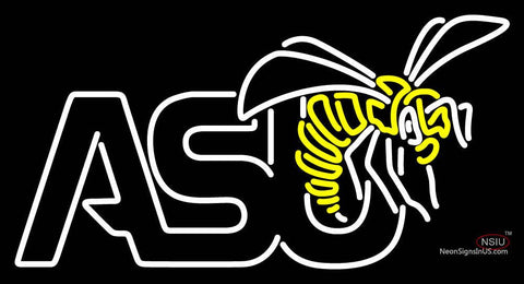 Alabama State Hornets Primary  Pres Logo NCAA Neon Sign