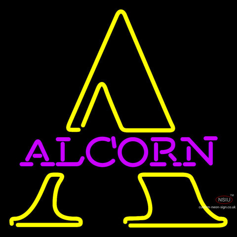 Alcorn State Brave Steam Neon Sign x