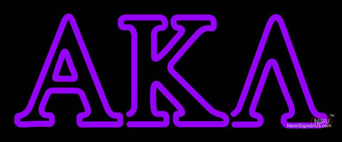Alpha Kappa Lambda Neon Sign