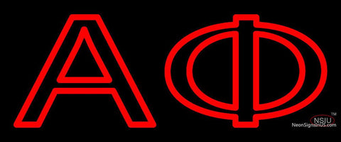 Alpha Phi Neon Sign