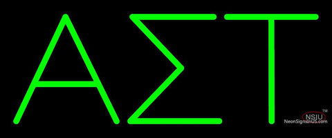 Alpha Sigma Tau Neon Sign