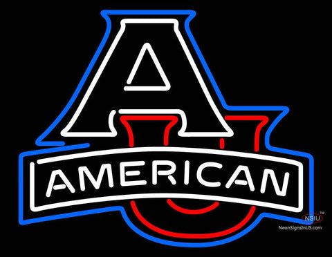 American University Eagles Team Neon Sign