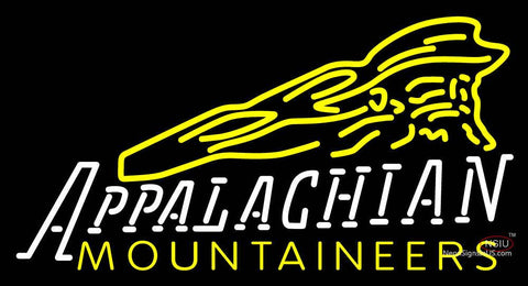 Appalachian State Mountaineers Neon Sign
