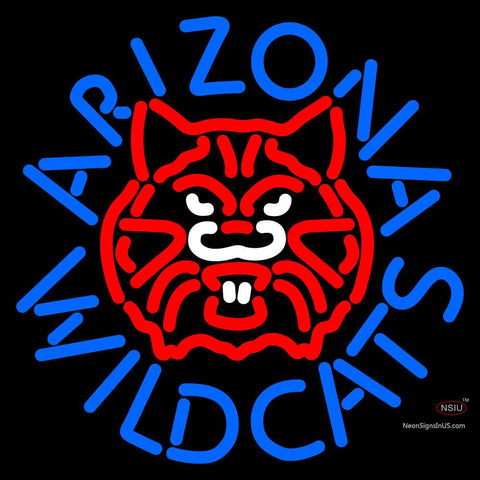 Arizona Wildcats Alternate  Pres Logo NCAA Neon Sign  x