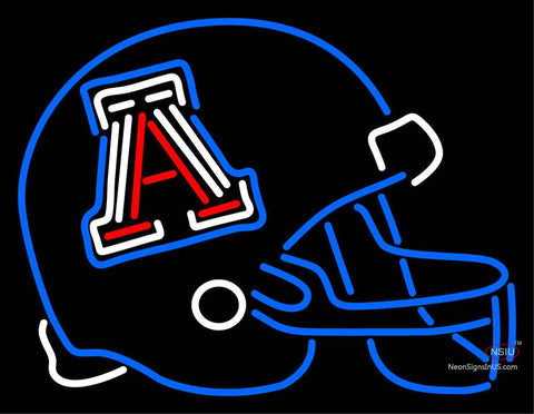 Arizona Wildcats Helmet  Pres Logo NCAA Neon Sign