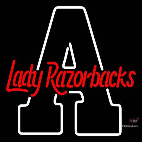 Arkansas Razorbacks Alternate  Pres Logo NCAA Neon Sign