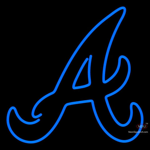 Atlanta Braves Alternate 7 Pres Logo MLB Neon Sign