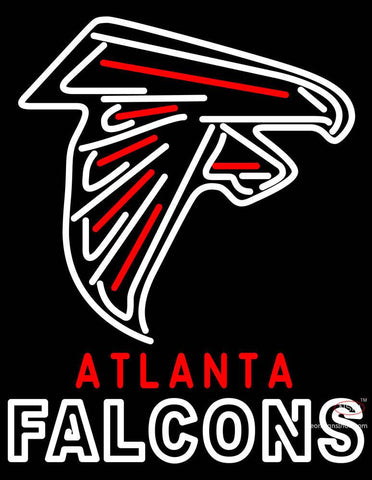 Atlanta Falcon  Pres NFL Alternate Logo Neon Sign