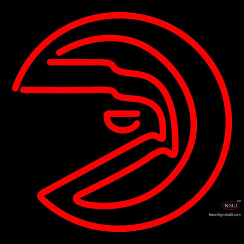 Atlanta Hawks Alternate 7 7   Logo NBA  Neon Sign x