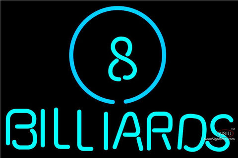 Ball Billiards Pool Neon Beer Sign