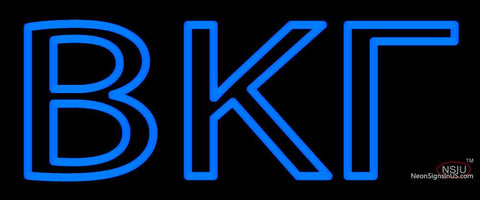Beta Kappa Gamma Neon Sign