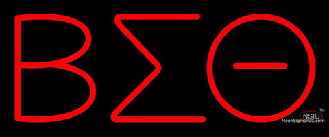 Beta Sigma Theta Neon Sign