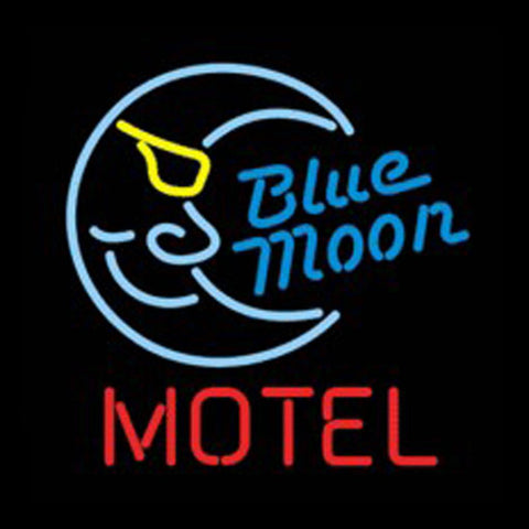 bluemoon hotel neon signs