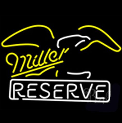 Miller Eagle Reserve Neon Beer Sign Small