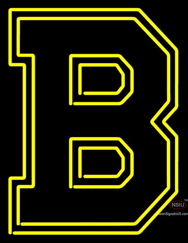 Boston Bruins  To  Logo NHL Neon Sign