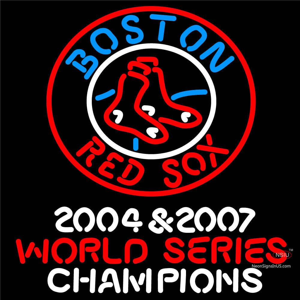 Boston Red Sox Neon Sign