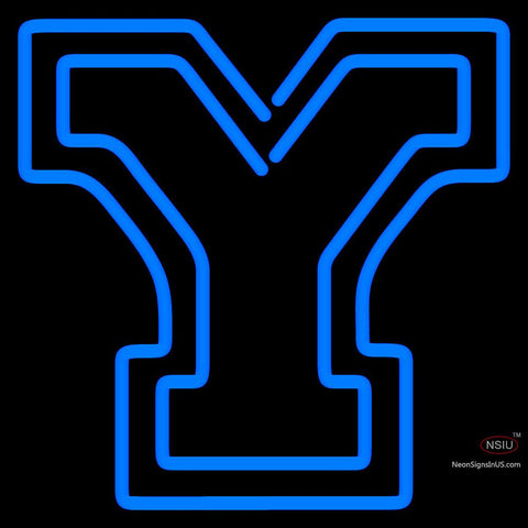 Brigham Young Cougars Alternate   Logo NCAA Neon Sign  x