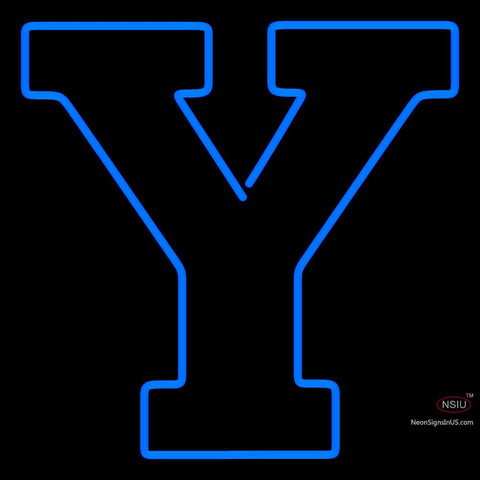 Brigham Young Cougars Alternate  Pres Logo NCAA Neon Sign