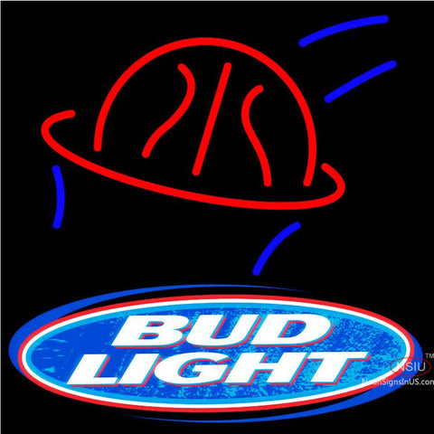 Bud Light Basketball Neon Beer Sign  x