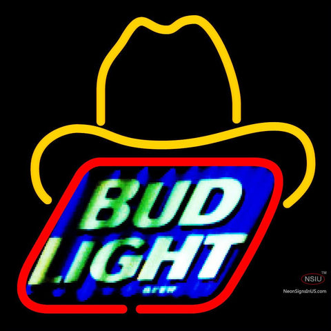 Bud Light Small George Strait Neon Beer Sign x
