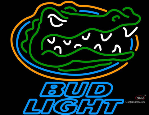 Bud Light University of Florida Neon Beer Sign