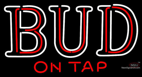 Bud On Tap Neon Sign