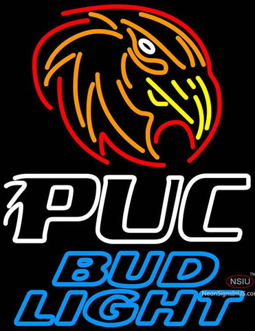 Bud Light Purdue University Calumet Neon Sign