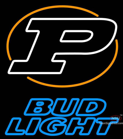 Bud Light Purdue University Ncaa Logo Neon Sign