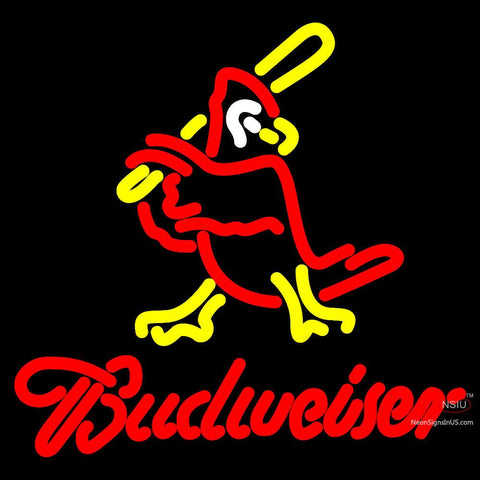 Budweiser Cardinals Neon Sign