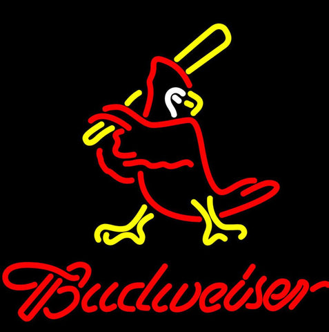 Budweiser Cardinals Neon Sign Giant
