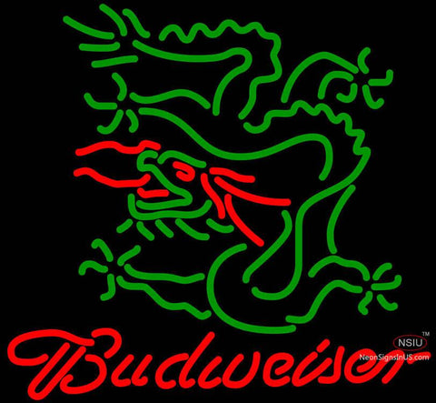 Budweiser Dragon Neon Beer Signs