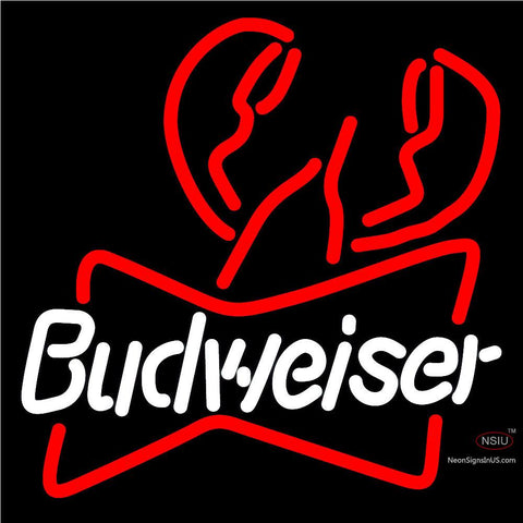 Budweiser Lobster Neon Sign