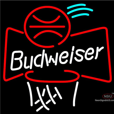 Budweiser Basketball Neon Beer Sign