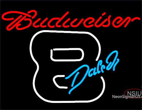 Budweiser Dale Jr.  Neon Beer Sign