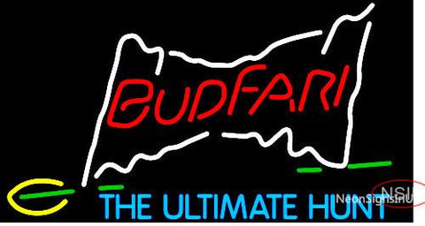 Budweiser Budfari Neon Beer Sign