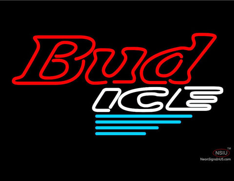 Bud Ice N.Y. Rangers Neon Beer Sign
