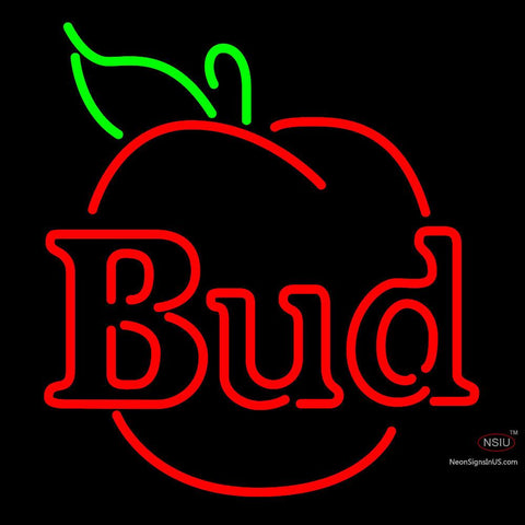 Budweiser Bud Apple Neon Beer Sign x