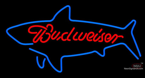 Budweiser Shark Whale Neon Sign