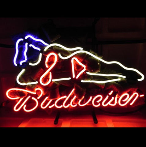 Budweiser Sexy Girls Beer Bar Neon Light Sign